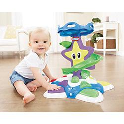 """Развивающая игрушка """"Морская звезда с горкой-спиралью"""", со звуком и светом, Little Tikes"""