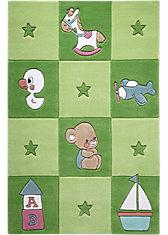 Teppich Newborn, grün