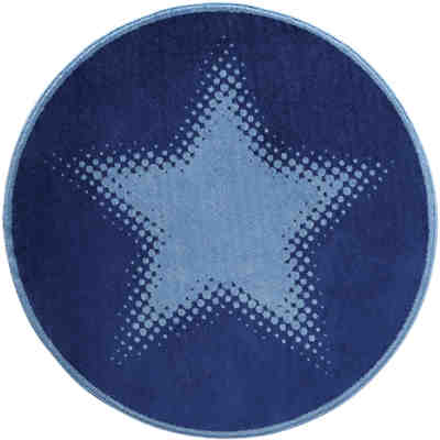 Teppich Walk of fame, blau