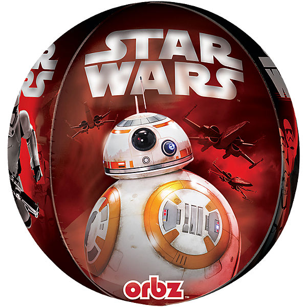Folienballon Orbz Star Wars The Force Awakens