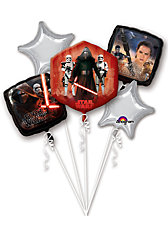 Folienballon Bouquet Star Wars The Force Awakens Birthday