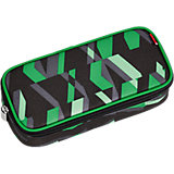 4YOU Pencil Case mit Geodreieck Chequer Green