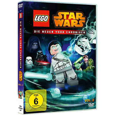 DVD LEGO Stars Wars: Yoda-Chroniken 02