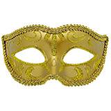 """Карнавальная маска """"Золото"""""""