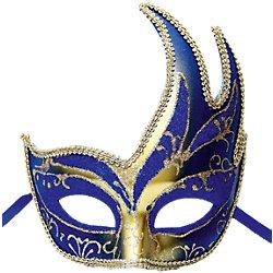 "Карнавальная маска ""Жар-птица"", синяя"