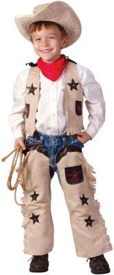 """Маскарадный костюм для мальчика """"Ковбой"""", 6-8 лет"""