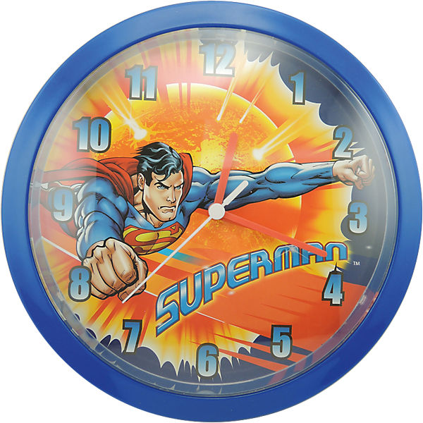 Wanduhr Superman