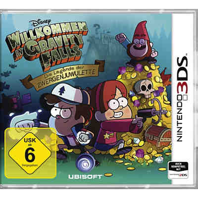 3DS Gravity Falls