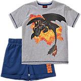 DRAGONS Set T-Shirt + Shorts für Jungen
