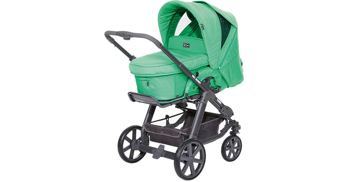 Kombi Kinderwagen Turbo 4, fashion-grass, 2016 grün