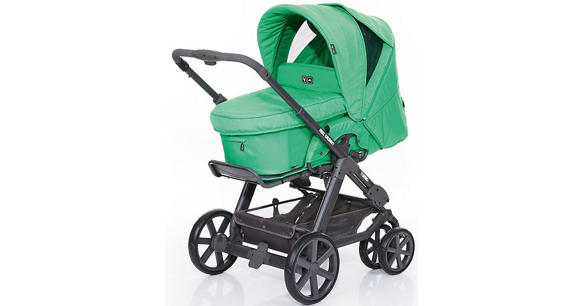 Kombi Kinderwagen Turbo 6, fashion-grass, 2016 grün