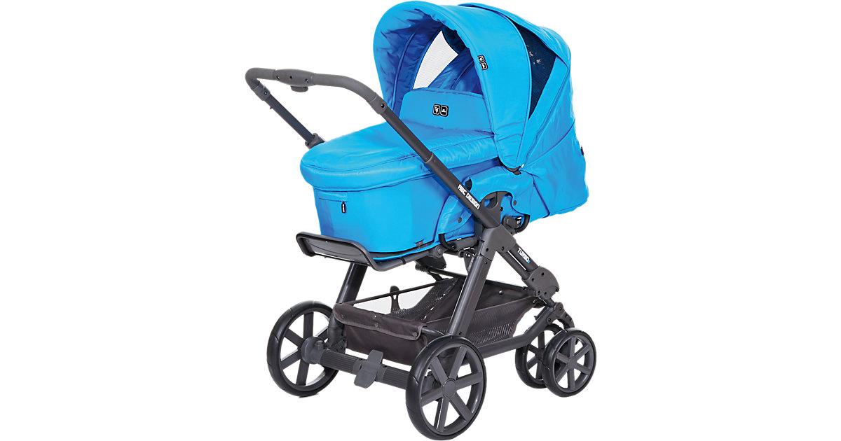 Kombi Kinderwagen Turbo 6, fashion-water, 2016 blau