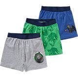 DRAGONS Unterhosen 3er-Pack für Jungen
