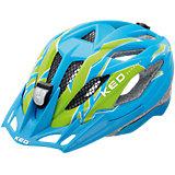 Fahrradhelm Street Jr. PRO S Blue Green Matt