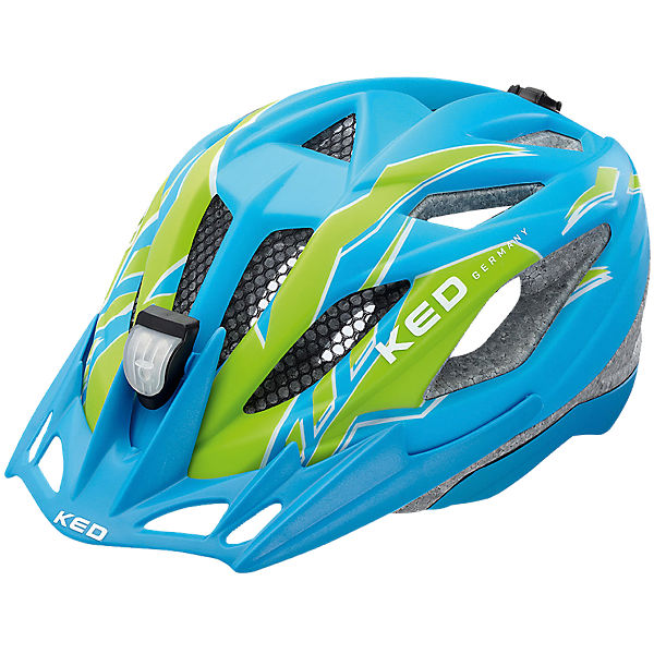 Fahrradhelm Street Jr. PRO Blue Green Matt