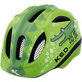 Fahrradhelm Meggy XS Green Croco