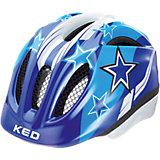 Fahrradhelm Meggy XS Blue Stars
