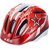 Fahrradhelm Meggy XS Red Stars