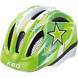 Fahrradhelm Meggy XS Green Stars