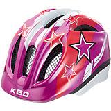 Fahrradhelm Meggy XS Violet Stars