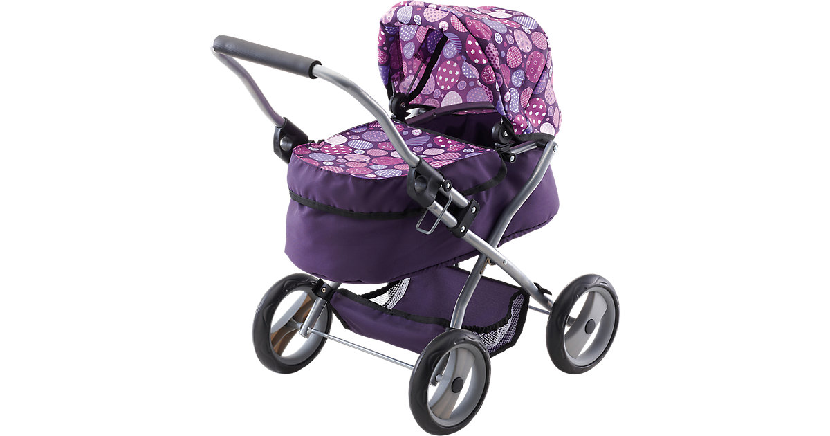 Puppenwagen My First Trendy lila