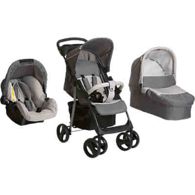 Kombi Kinderwagen Shopper SLX Trio Set, stone/grey, 2016