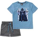 STAR WARS Set T-Shirt + Sweatshorts für Jungen
