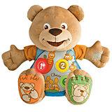 Говорящий мишка Teddy, рус/англ, Chicco