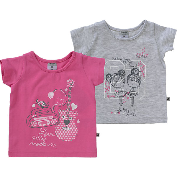 Baby T-Shirts Doppelpack