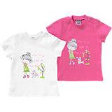 JACKY Baby T-Shirts Doppelpack für Mädchen