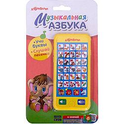 """Смартфончик """"Музыкальная азбука"""" (желтый)"""