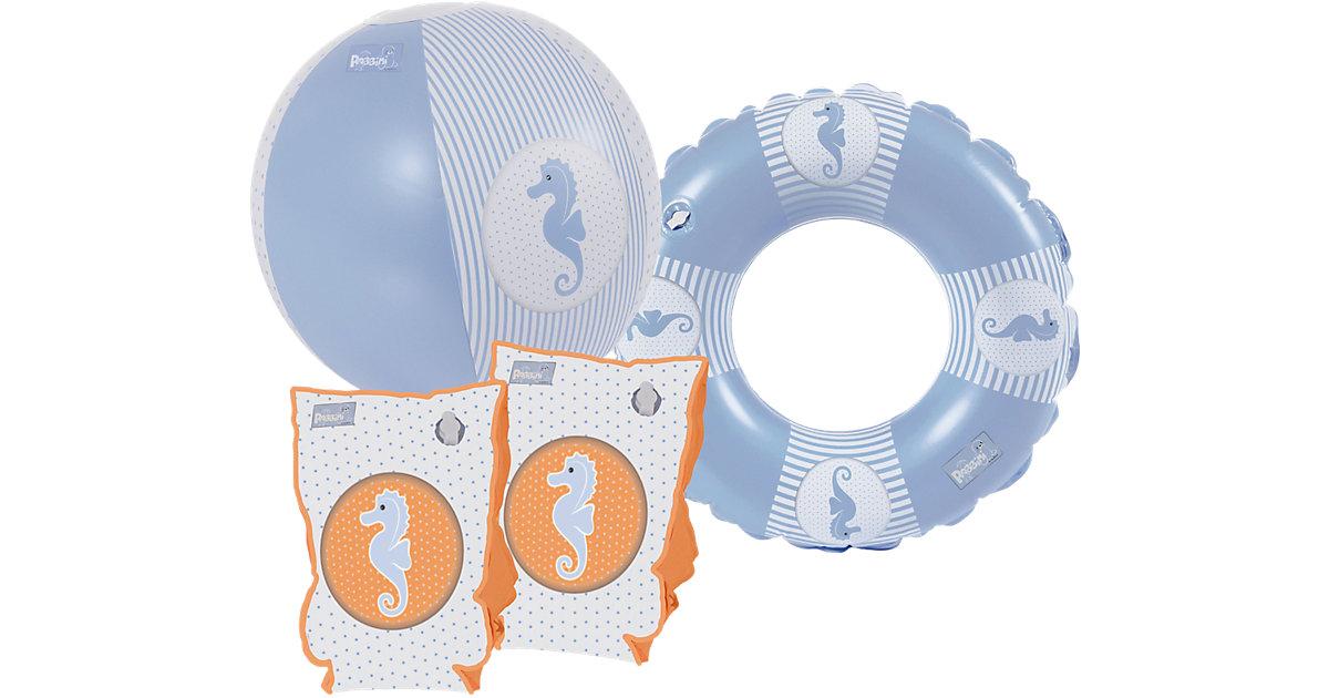 Geschenkset Robbini Boy (Schwimmhilfe, Wasserball, Wasserspielring)
