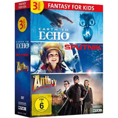 DVD Fantasy for Kids Box (3x DVDs)