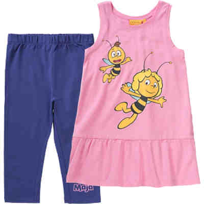 Biene Maja Kinder Set Kleid & Leggings