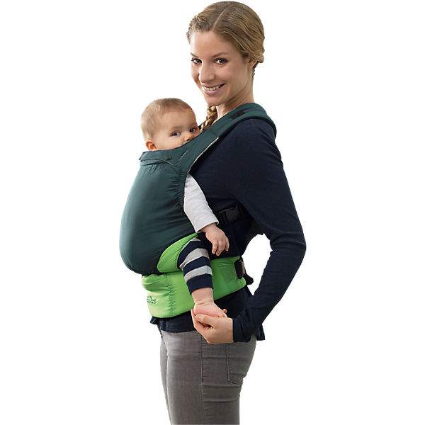 Babytrage Smart Carrier Ultra-Light, green