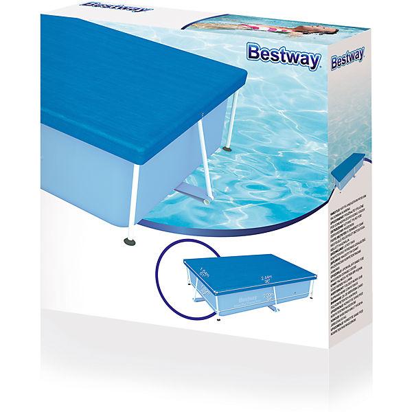 abdeckplane f r frame pool 239 x 150cm bestway mytoys. Black Bedroom Furniture Sets. Home Design Ideas