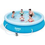 Fast Set Pool Set mit Filterpumpe 366 x 76cm
