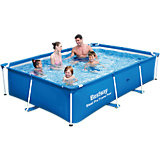 Frame Pool Deluxe Splash Jr. - Steel Pro  259 x 170 x 61cm