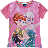 DISNEY DIE EISKÖNIGIN T-Shirt für Mädchen