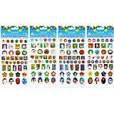 Набор объемных голографических наклеек 20*11,5 см, в ассортименте