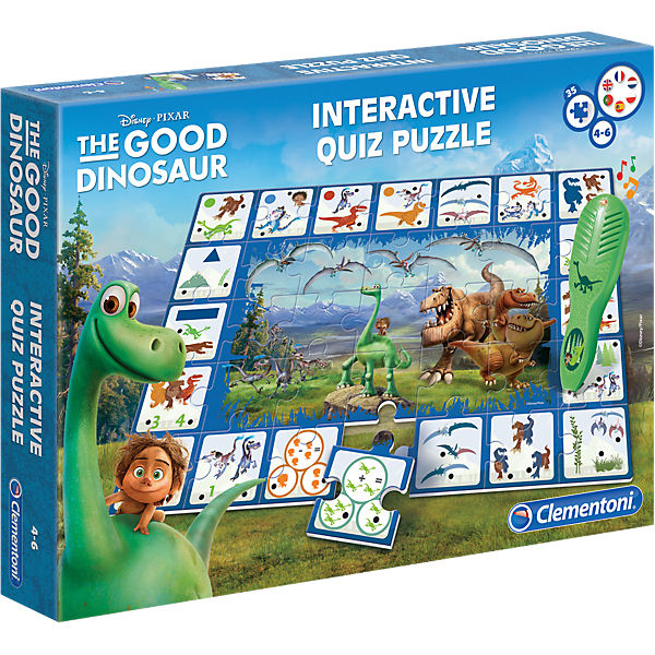 Interaktives Quiz Puzzle - Disney Arlo & Spot