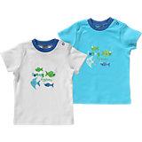 JACKY Baby T-Shirts Doppelpack für Jungen