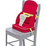 Babystuhlsitz Travel Booster, red dot