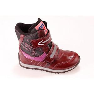 Полусапоги для девочки Minimen - бордовый