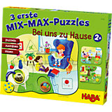 HABA 3 erste Mix-Max-Puzzles - Bei uns Zuhause