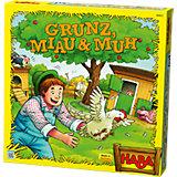 HABA Spielesammlung Grunz, Miau & Muh