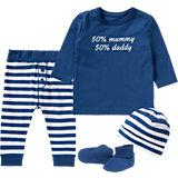 Baby Geschenkeset für Jungen, Organic Cotton