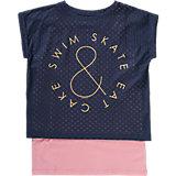 Set T-Shirt + Top für Mädchen