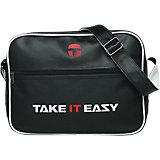TiE Umhängetasche Eazy Bag schwarz