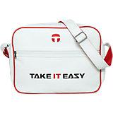 TiE Umhängetasche Eazy Bag weiß